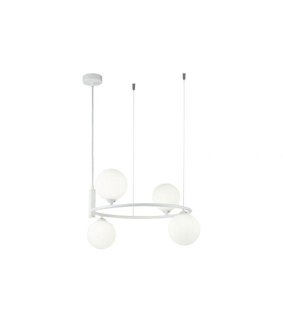 Pakabinamas šviestuvas RING White 4 MOD013PL-04W