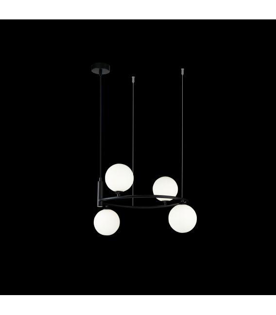 Pakabinamas šviestuvas RING Black 4 MOD013PL-04B