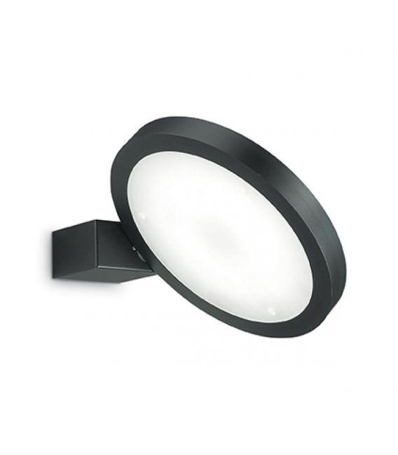 15W LED Sieninis šviestuvas FLAP AP1 ROUND Black 155401