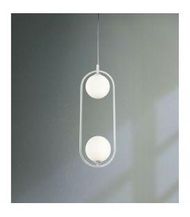 Pakabinamas šviestuvas RING White 2 MOD013PL-02W