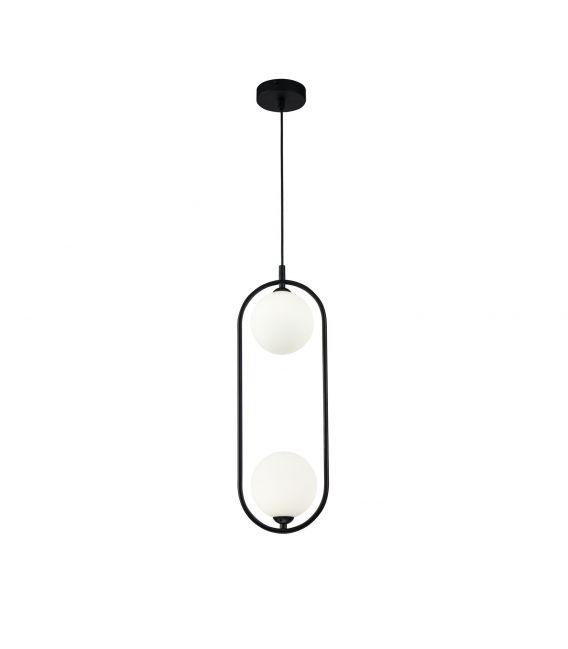 Pakabinamas šviestuvas RING Black 2 MOD013PL-02B