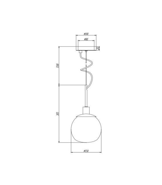 Pakabinamas šviestuvas ERICH MOD221-PL-01-N