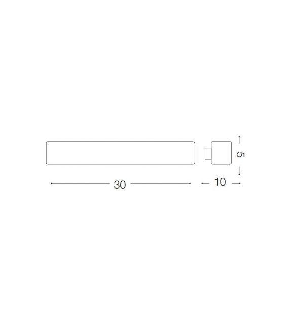Sieninis šviestuvas LOLA AP1 SMALL 162089