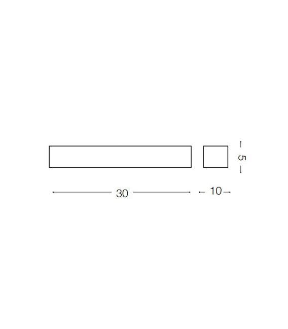 6W LED Sieninis šviestuvas CUBE AP1 SMALL 161785