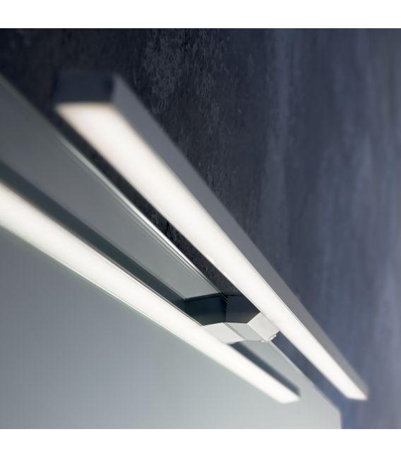 11,76W LED Sieninis šviestuvas EDGAR AP84 ALLUMINIO IP44 136561