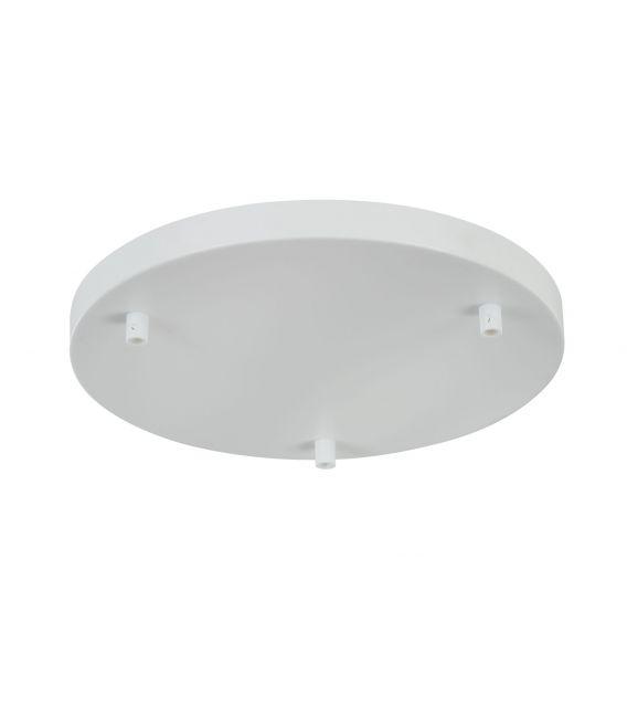 Tvirtinimo elementas UNIVERSAL BASE White ø30 SPR-BASE-R-03-W