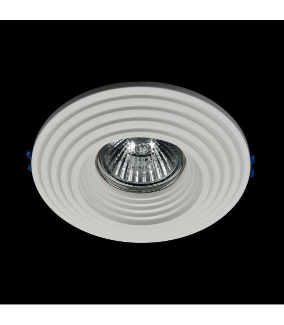 Įmontuojamas šviestuvas GYPS MODERN Round DL004-1-01-W