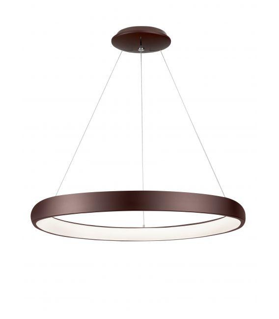 80W LED Pakabinamas šviestuvas Albi Ø81 Coffee Brown 8105609