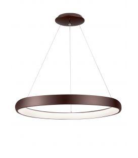 80W LED Pakabinamas šviestuvas ALBI Coffee Brown Ø81 dimeriuojamas 8105609