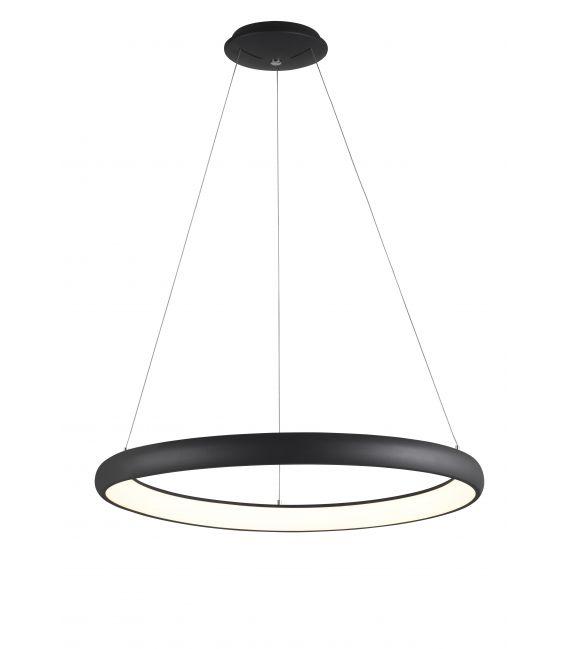 80W LED Pakabinamas šviestuvas Albi Ø81 Black 8105604D