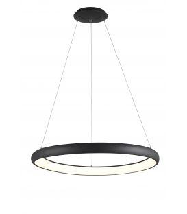 80W LED Pakabinamas šviestuvas ALBI Black Ø81 Dimeriuojamas 8105604D