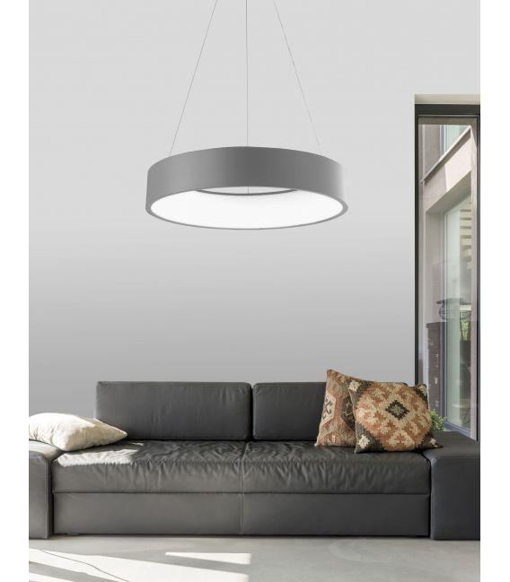 42W LED Pakabinamas šviestuvas RANDO Ø60 Gray 6167206