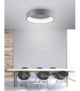 42W LED Lubinis šviestuvas RANDO Gray Ø60 6167208