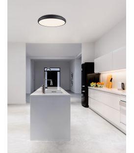 50W LED Lubinis šviestuvas GAP Ø51 Black 8100984