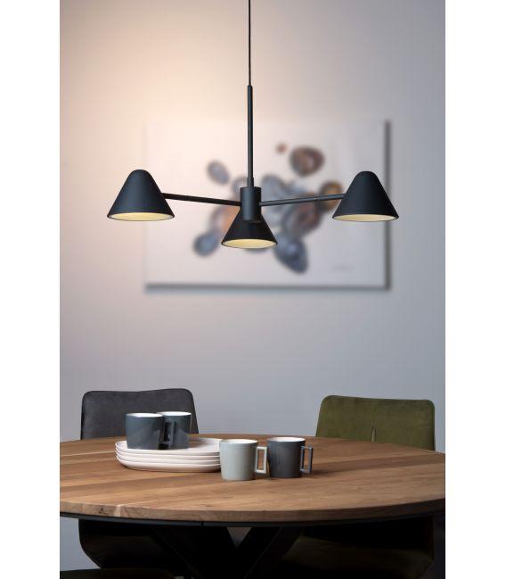 3W LED Pakabinamas šviestuvas DEVON Black 20415/15/30
