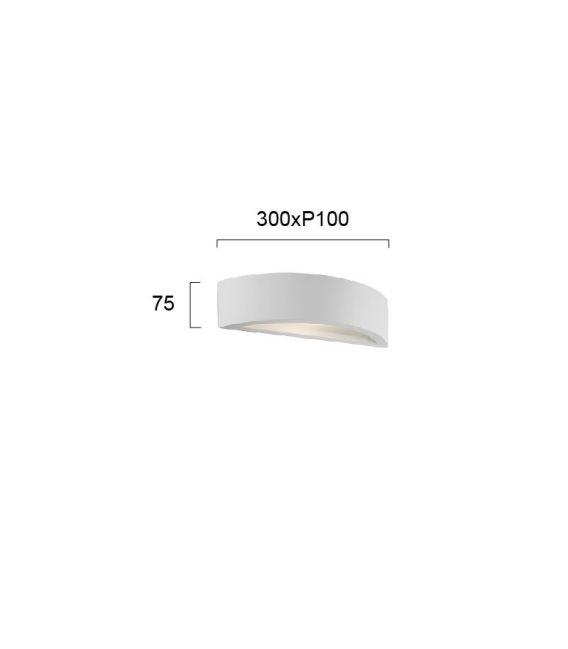 Sieninis šviestuvas CERAMIC 4071900VIOKE