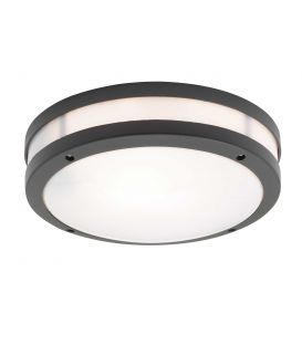 Lubinis šviestuvas CHIOS Black IP44 4081701