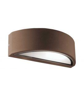 Sieninis šviestuvas RHODES Brown IP44 4100702