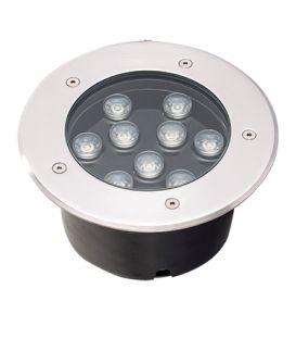 9W LED Įmontuojamas šviestuvas LOTUS Ø18 IP67 4187000