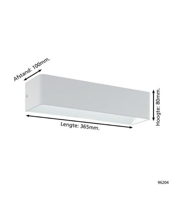 10W LED Sieninis šviestuvas SANIA 3 White 96204