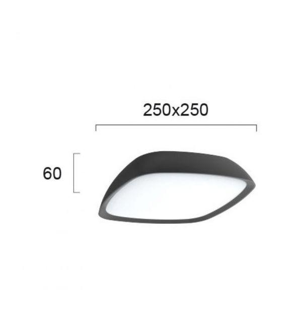 20W LED Lubinis šviestuvas COSMO IP65 4212800