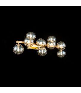 Sieninis šviestuvas DALLAS 9 Gold MOD547WL-09G