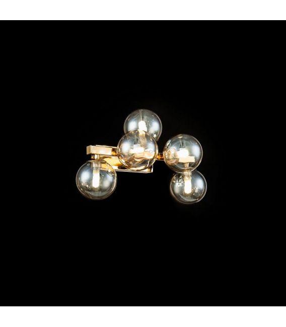 Sieninis šviestuvas DALLAS 5 Gold MOD547WL-05G
