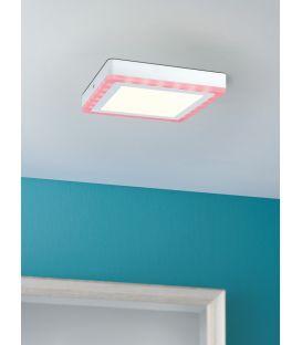 14W LED Lubinis šviestuvas SOL Square Dimeriuojamas 70734