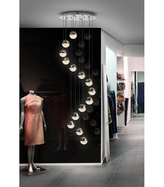 50W LED Pakabinamas šviestuvas SPHERE Ø51 Dimeriuojamas 793746