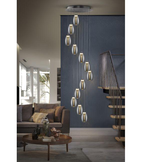 60W LED Pakabinams šviestuvas NEBULA 12 584541