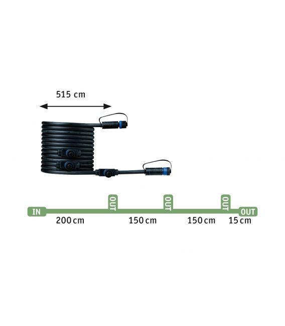 3 x 2.5 W LED Rinkinys FLOOR MINI 93697
