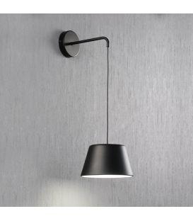 Sieninis šviestuvas DONA Black 27920/NM