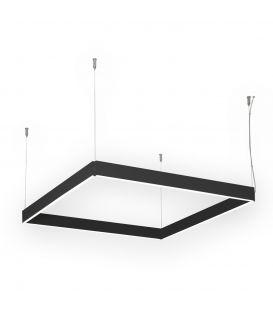 55W LED Pakabinamas šviestuvas MANOLO Black 24840/75