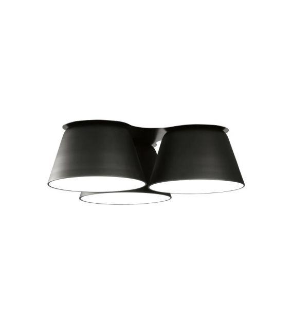 Lubinis šviestuvas SENTO Black ⌀70 28280/70NM