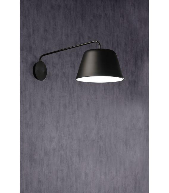 Sieninis šviestuvas SENTO Black 28960NM