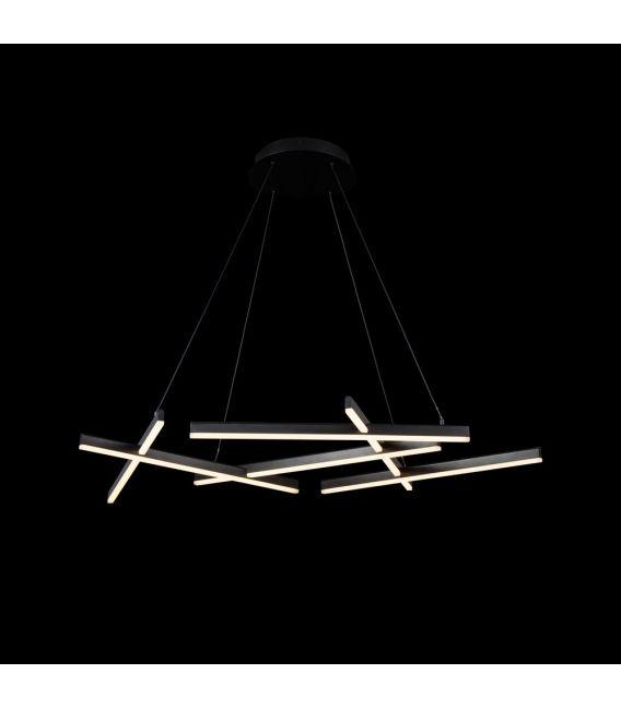 75W LED Pakabinamas šviestuvas LINE Black MOD016PL-L75B