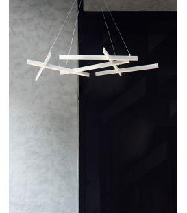 75W LED Pakabinamas šviestuvas LINE White MOD016PL-L75W