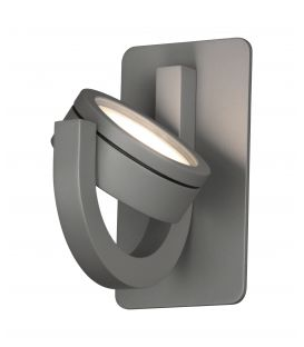 Sieninis šviestuvas IGUAZU Dark Grey IP54 6558