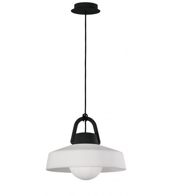 Pakabinamas šviestuvas KINKE Ø40 IP44 White/Gray 6212
