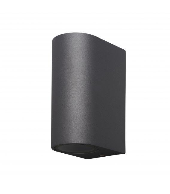 Sieninis šviestuvas KANDANCHU Dark Grey IP54 6510