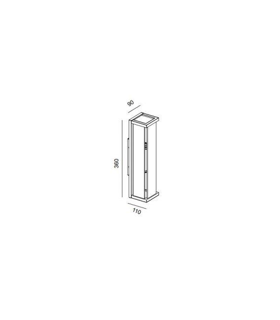 Sieninis šviestuvas MERIBEL IP54 6492