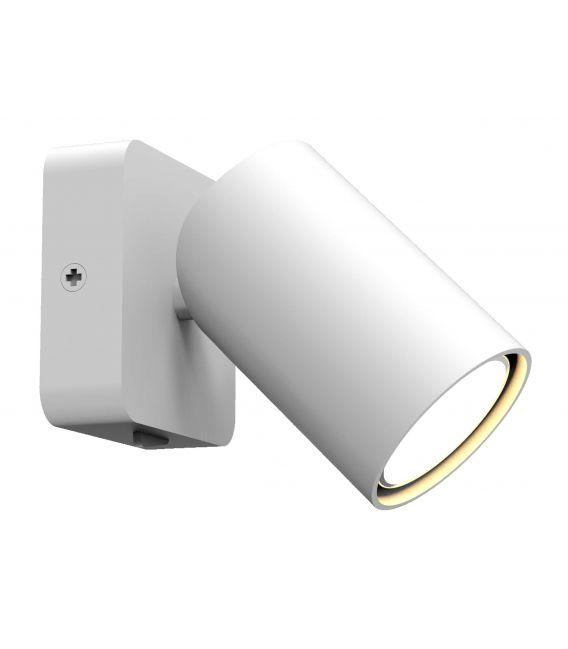 Sieninis šviestuvas SAL White 6284