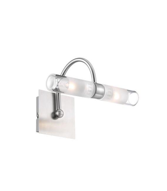 Sieninis šviestuvas DRITTO Nickel IP44 6310661