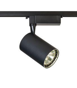 17W LED Šviestuvas bėgeliui TRACK Black 1F TR003-1-17W4K-B
