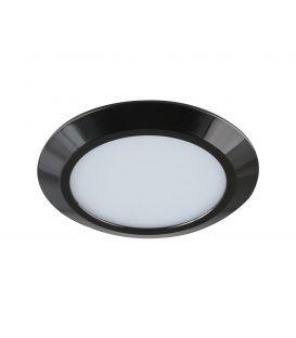 7W LED Įmontuojamas šviestuvas GAMA MINI Black Ø9.5 IP44 LC1453 YLD-017485