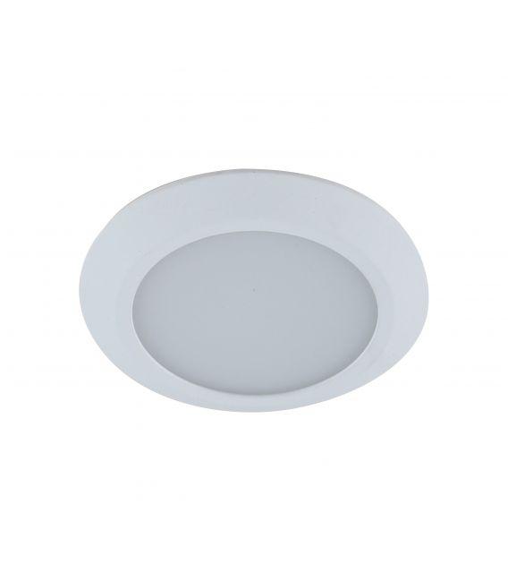 7W LED Įmontuojamas šviestuvas GAMA MINI White Ø9.5 IP44 LC1453 YLD-005802