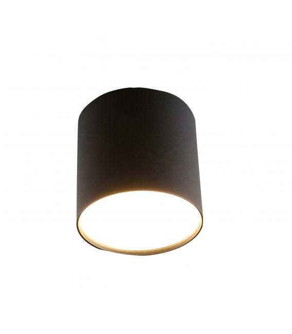 9W LED Lubinis šviestuvas GAMA SUPERFICIE Black Ø8,5 LC1465 YLD-021482