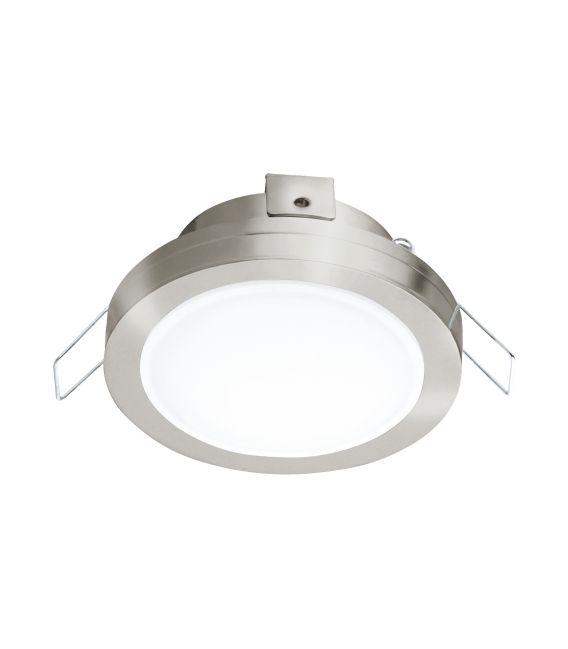 6W LED Įmontuojama panelė PINEDA Nickel IP44 3000K 95918