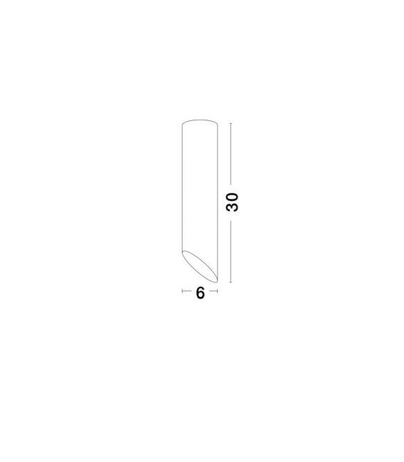 Lubinis šviestuvas OSLO White H30 9184372