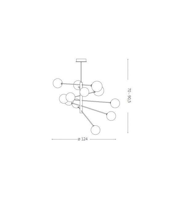 Pakabinamas šviestuvas EQUINOXE SP12 200125